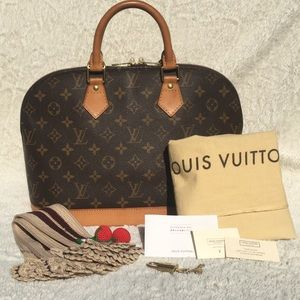 Authentic Louis Vuitton Monogram Alma PM